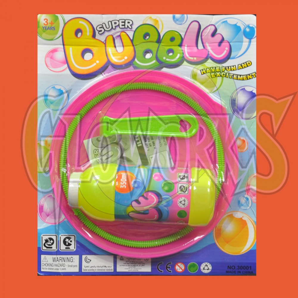Ring Bubble Blowers : Super bubble ring tray with solution piece
