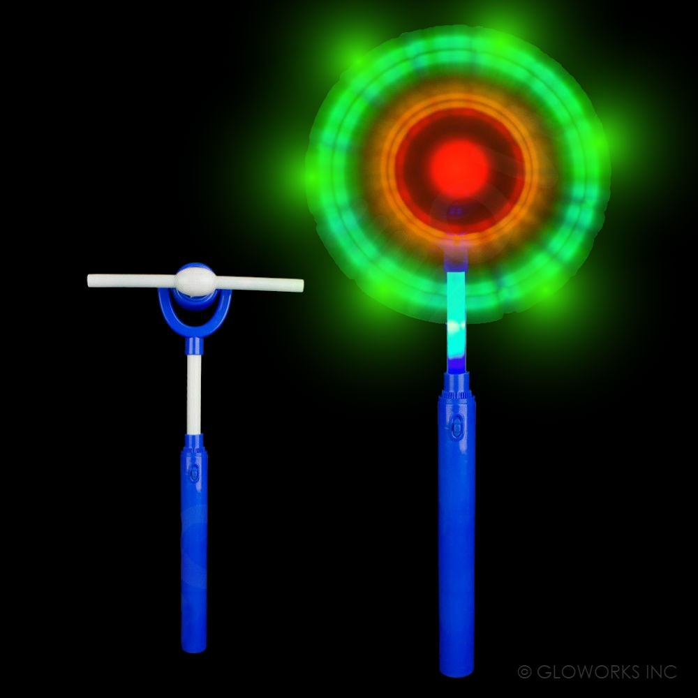 assorted color large led windmill wand 1 piece. Black Bedroom Furniture Sets. Home Design Ideas