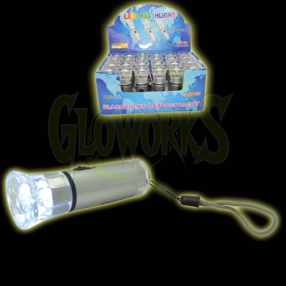 White LEDs Flashligt (1 PIECE)