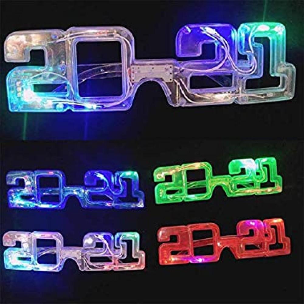 LED NEW YEAR 2021GLASSES