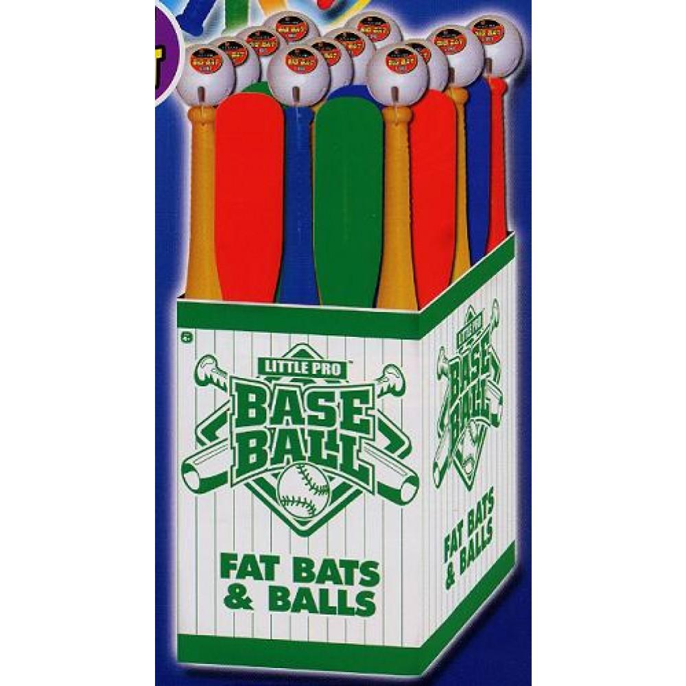 FAT BAT WITH BALL (1 SET)