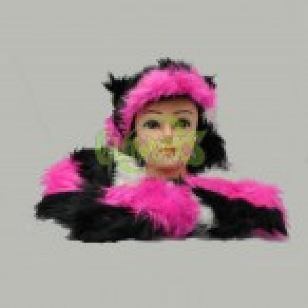 ULTRA FUZZY ANIMAL HAT WITH PAWS (1 PIECE)