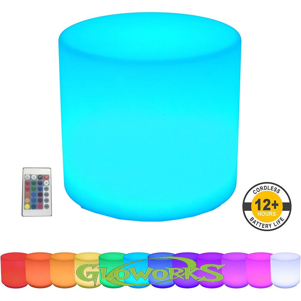 """16"""" Cylinder shaped Flashing Cube"""