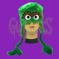 Oscar Green Fuzzy Laplander Hat (1 PIECE)