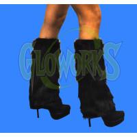 NON-FLASH BLACK LEG WARMERS (1 PAIR)