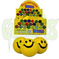 """3"""" SPONGE SMILEY FACE BALLS (1 PIECE)"""