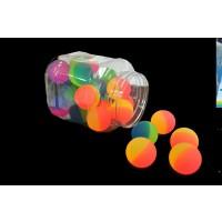 NON-FLASHING BOUNCE BALL IN COUNTER DISPLAY (24 PIECES)