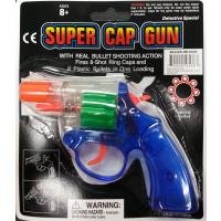 SUPER CAP GUN - REVOLVER (1 PIECE)