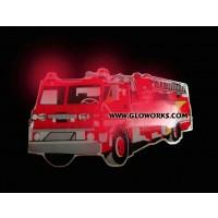 FIRE TRUCK FLASHING MAGNETIC LED PIN (1 DOZEN)