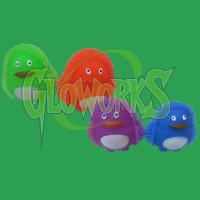 PENGUIN FLASHING PUFFERS - ASST. COLORS (1 PIECE)