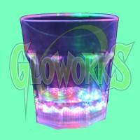 LED GLASS - 6OZ ROCKS (1 DOZEN)