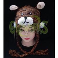 WOOL KNIT BEAR ANIMAL HAT (1 PIECE)
