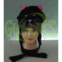 WOOL KNIT CAT ANIMAL HAT (1 PIECE)