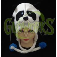 WOOL KNIT PANDA ANIMAL HAT (1 PIECE)