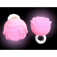 NON-FLASHING PINK ROSE RING (1 PIECE)